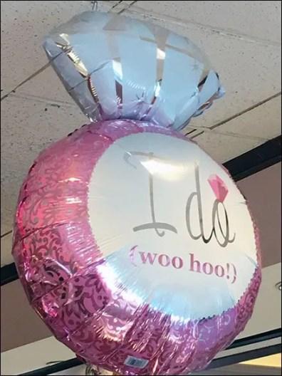 Littmans I Do Woo Hoo Inflatable 1