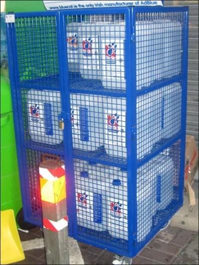 Euro Fixture: Security Transport Carts