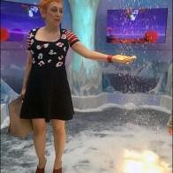 Mall Christmas Ice Palace Snow Fall 4