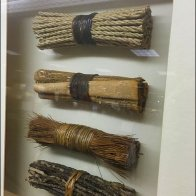 Twine, Bark, Straw, and Twig Visual Merchandising