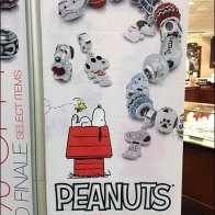 Snoopy Discount Banner at Zales