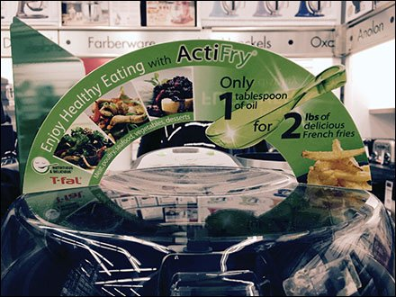 T-Fal® ActiFry One-Up Point-of-Purchase with QR