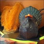 Thanksgiving Turkey in Chocolate Closeup