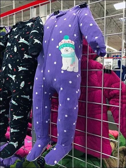 Toddler Pajamas Stuffed main
