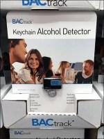 Alcohol Detector Pallet Merchandising