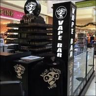 Blue Monkey Vape Bar Branding 2
