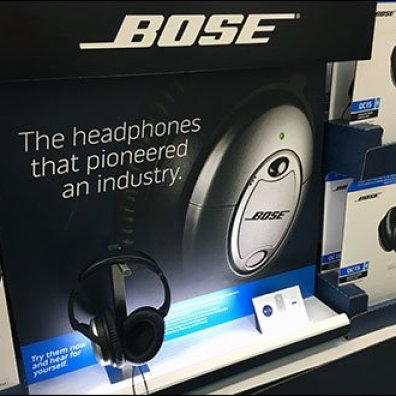 Bose Headphone Display Backlit 2