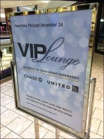 Mall VIP Lounge Invitation from Chase