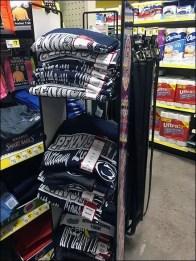 Collegiate Licensed Merchandising Display 2