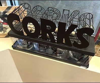 Cork Caddy Merchandising Overall