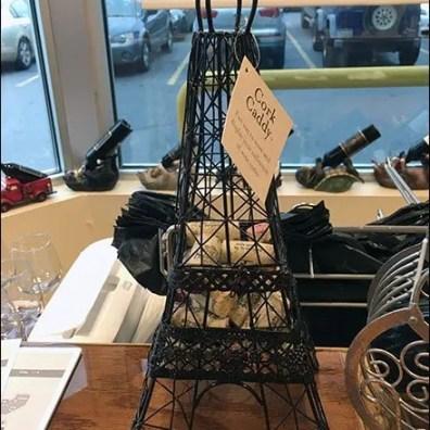 Eiffel Tower Cork Caddy 2