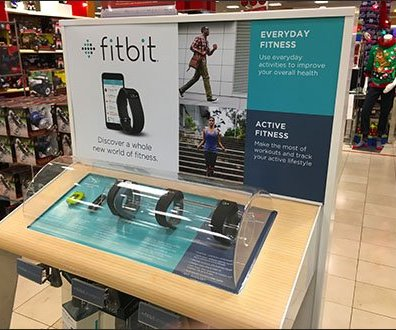 FitBit Floor Graphic
