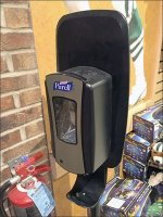 Purell Freestanding Store-Entry Hand Sanitizer