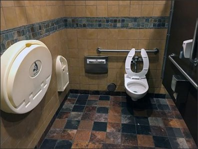 Full Outfitted Handicapped Stall 3