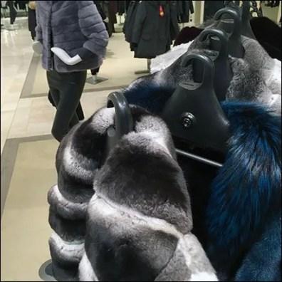Fur Swind-Away Clothes Hangered Rack 2