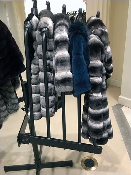 Fur Swind-Away Clothes Hangered Rack Main