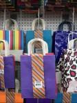 Gift Bag Drop Arm Pegboard Hook Front