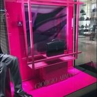 Giorgio Armani Briefcase Fluorescence