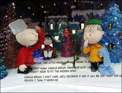 Peanuts Gang Macys Herald Square Windows 1