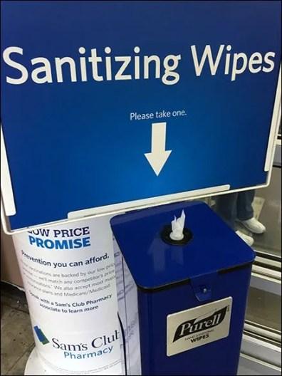 Purell Floor-Standing Sanitizing Wipes 3