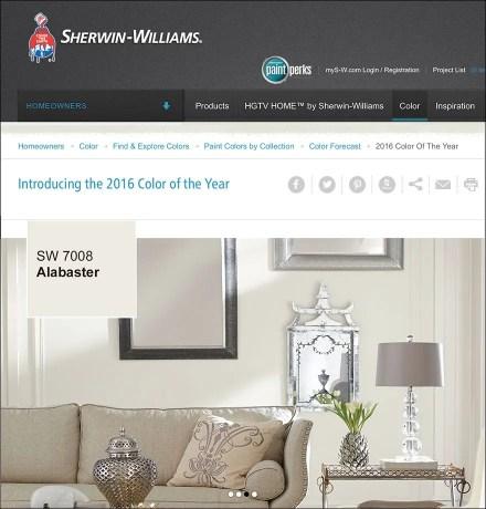2016 Color of the Year: Sherwin Williams vs Benjamin Moore