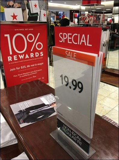 Sign Holder Stores Its Own Sign Inventory