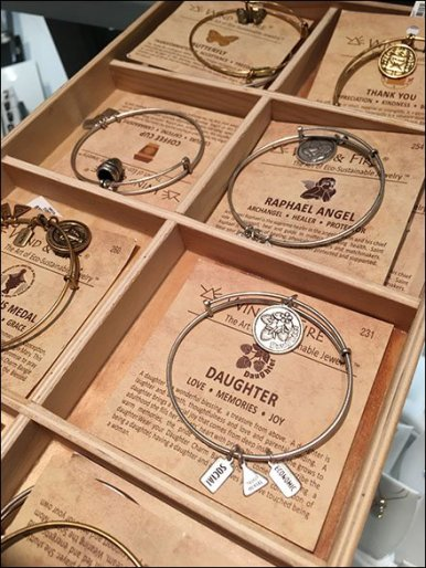 Wind & Fire Stackable Wood Trays For Bracelets