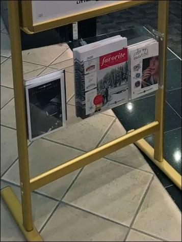 Store Entry Sign Brochure Holder 3