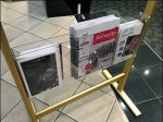 Store Entry Sign Brochure Holder Aux