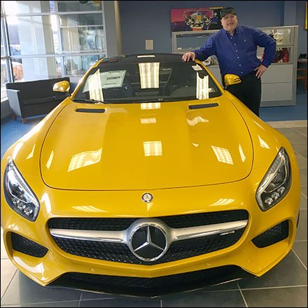 Tony and Mercedes GT Main