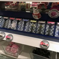 Tray-Me Magnetic Tins at Shelf Edge