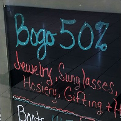 Winter Flourescent BOGO Chalkboard 3