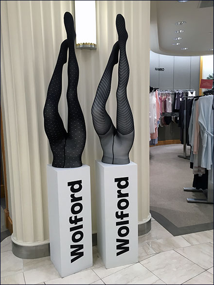 Wolford Up-Side-Down Branding Out-Of-Store