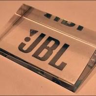 JBL Acrylic Table-Top Logo Plaque