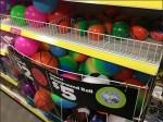 Ball Gondola Bulk Bin Merchandiser CloseUp