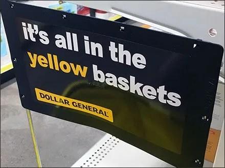 Dollar General Retail Fixtures