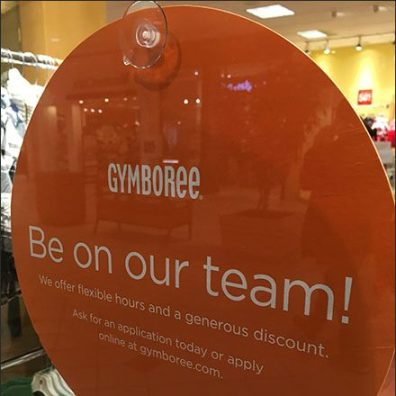 Gymboree Be On Our Team Main