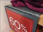 Hinged-Overlay Price Promotion at Shelf Edge Aux