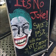 Hot Topic Joker BOGO Aux