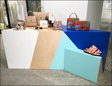 Hugo Boss Pedestals and Plinths Dazzle Paint CloseUp