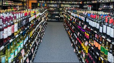 Retail Liquor Merchandising Straight Up: Linear Gondola