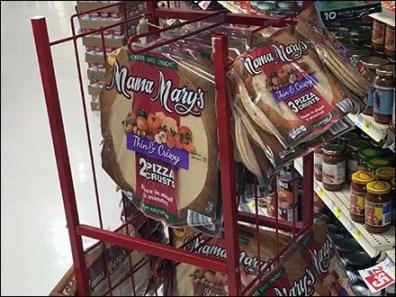 Mama Marys Semi-Castered Flatbread Rack 2