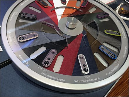 Motorola Roulette Wheel Color Sampler Main