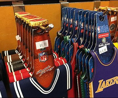 NFL / NBA Team Branded Beer Bottle Cozies