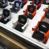 NFL Branded Styrofoam Stadium Seat Display 3