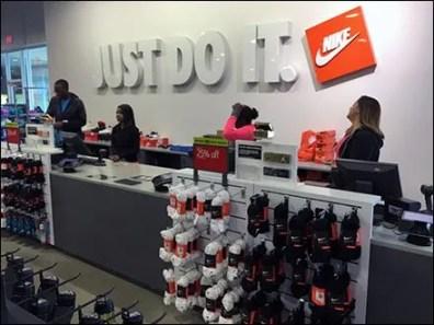 Nike Just Do It Store Branding 1
