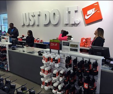 Nike Just Do It Store Branding 1