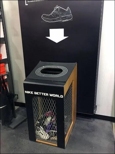 Retail Recycle: Nike Old Soles Never Die