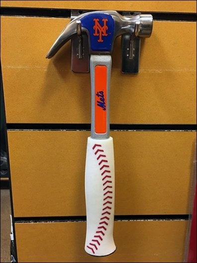 NY Mets Team Branded Hammer 1