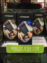 Polaroid 174 Selfie Stick Merchandising Fixtures Close Up